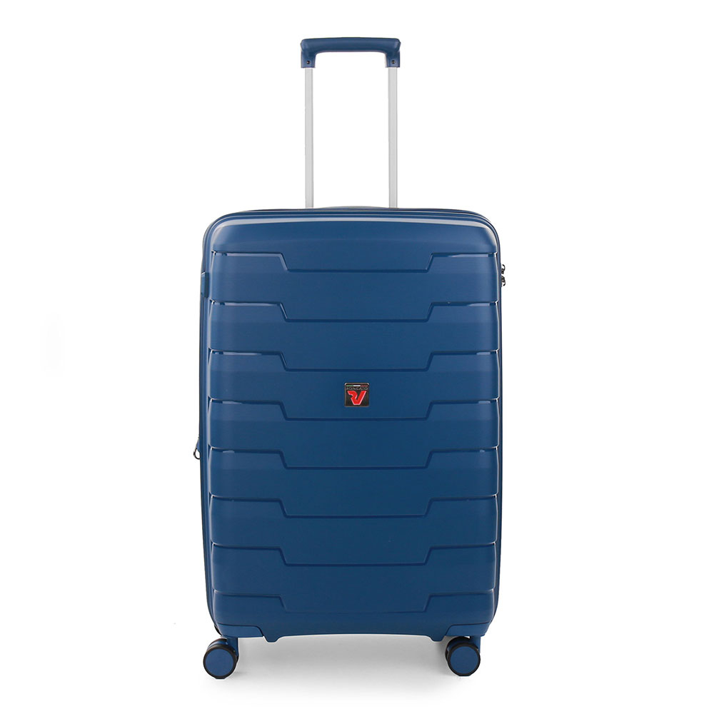 Roncato Skyline 4 Wiel Trolley Medium 70 Expandable Navy