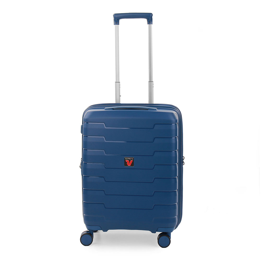 Roncato Skyline 4 Wiel Cabin Trolley 55 Expandable Navy