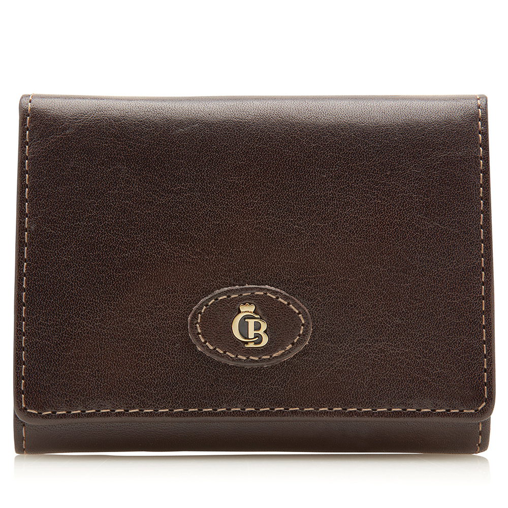 Castelijn & Beerens Gaucho Kleine Portemonnee RFID Mocca - Dames portemonnees