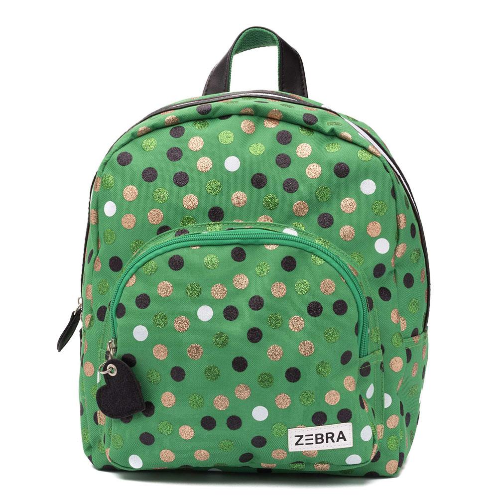 Zebra Trends Kinder Rugzak Wild Dots Glitter Green