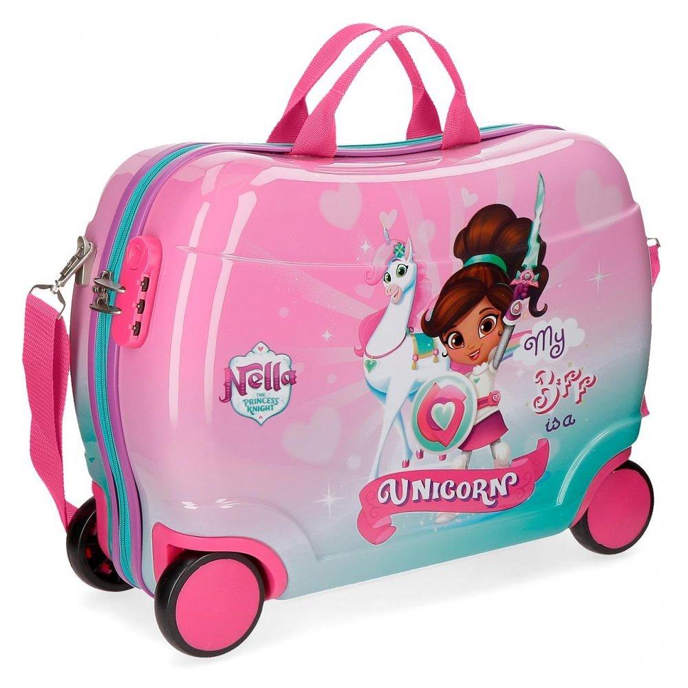 Disney Rolling Suitcase 4 Wheels Nella