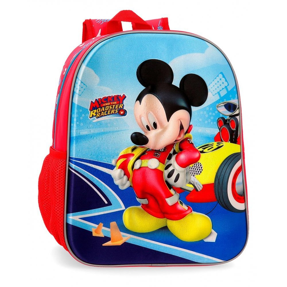 Disney Backpack 33 Cm Mickey Mouse Roadster