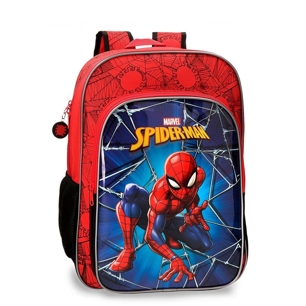 Disney Backpack M Spiderman Black