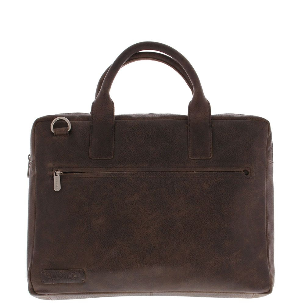 Plevier Urban Brooklyn Laptoptas Toploader 15.6 Dark Brown 477