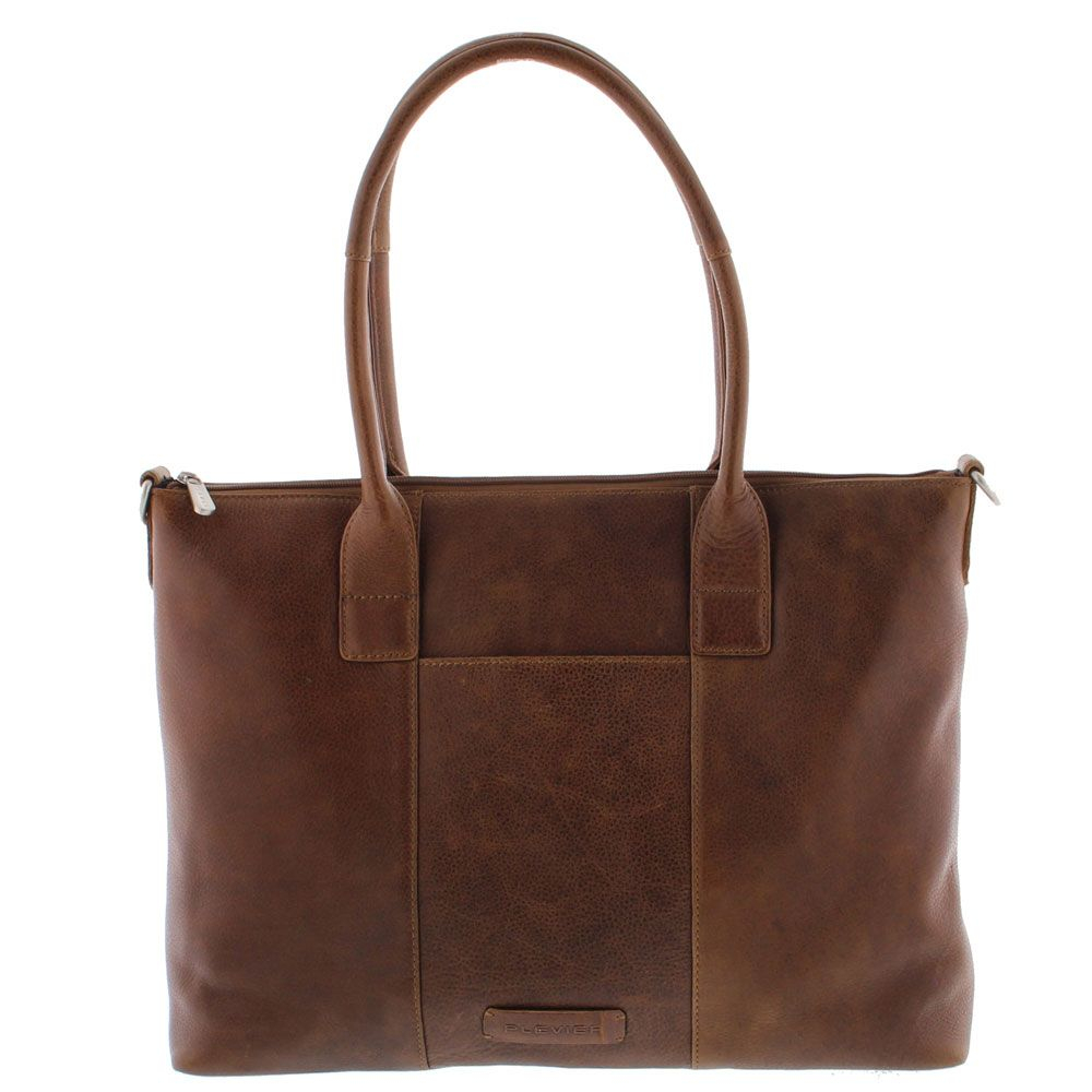 Plevier Parramatta Laptop Tote Bag Damestas 15.6 Cognac 483