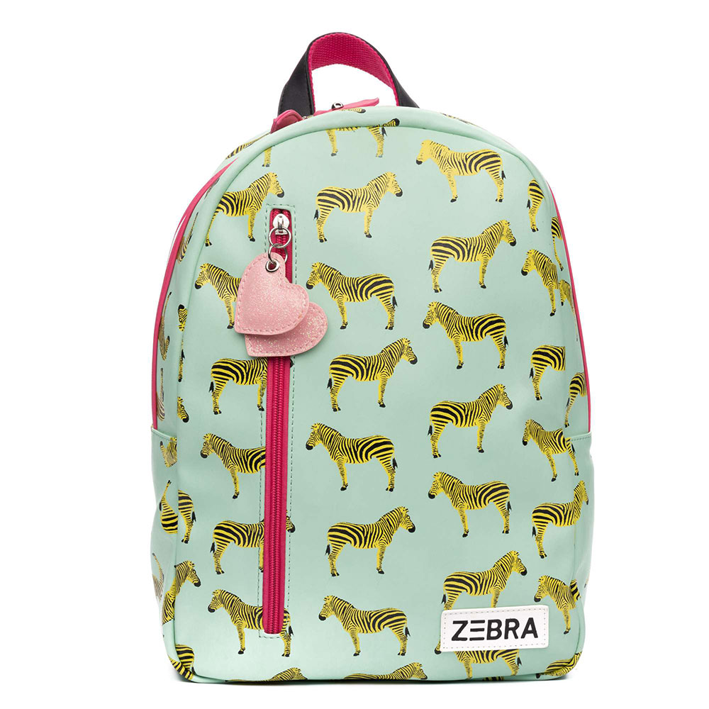 Zebra Trends Kinder Rugzak M Zebra Green