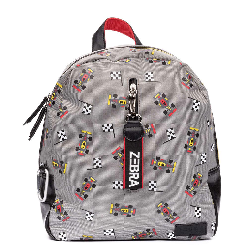 Zebra Trends Boys Rugzakje Formule 1