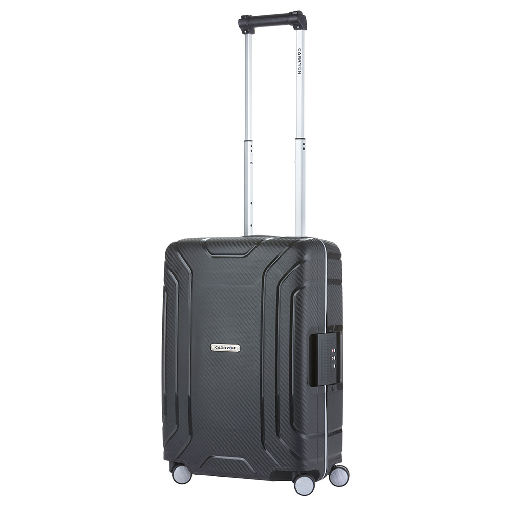 CarryOn Steward Handbagage Spinner 55 Black