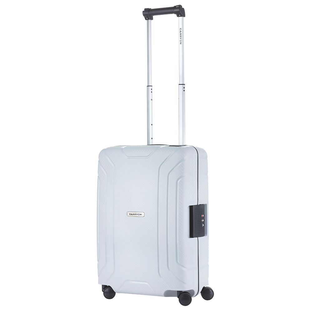 CarryOn Steward Handbagage Spinner 55 Light Grey