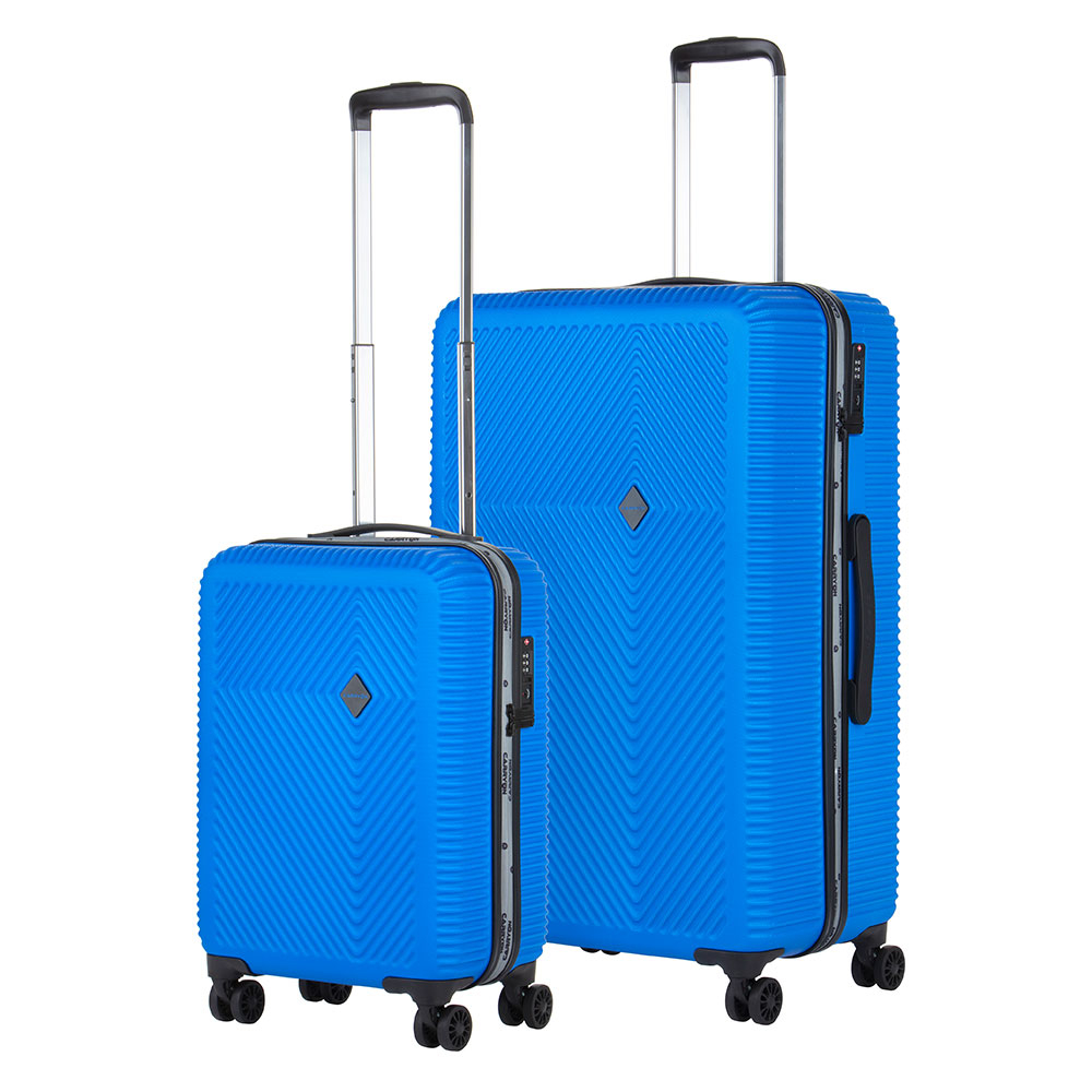 CarryOn Connect Kofferset 2-delig S+L Blue