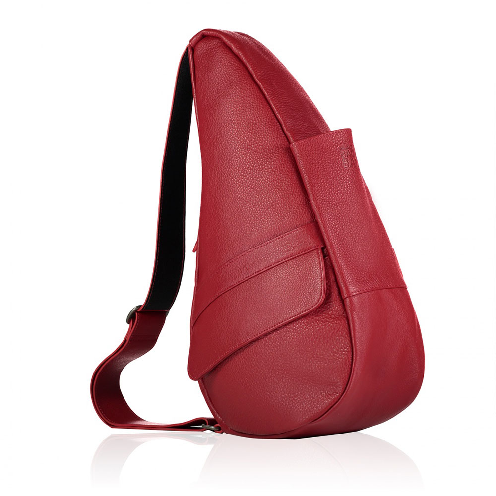 The Healthy Back Bag Leather S Chili Red