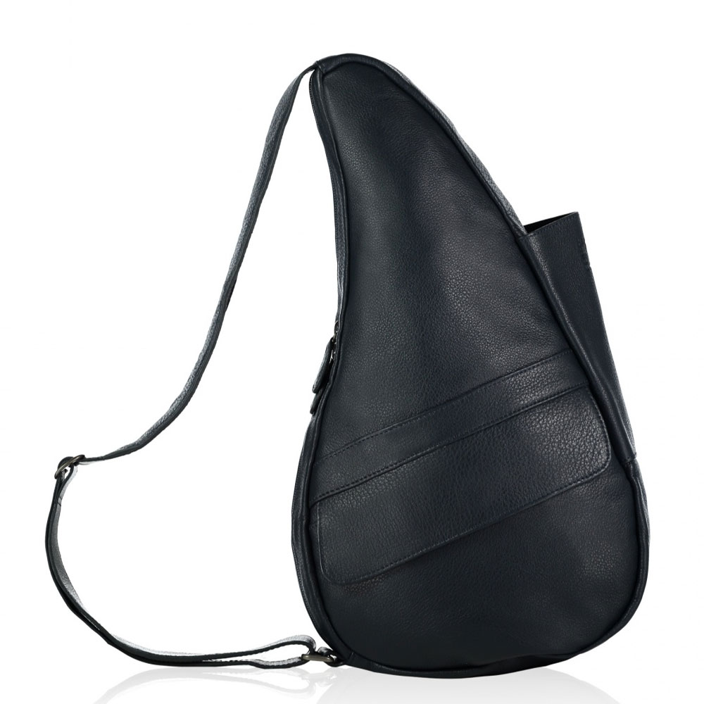 The Healthy Back Bag Leather M Navy