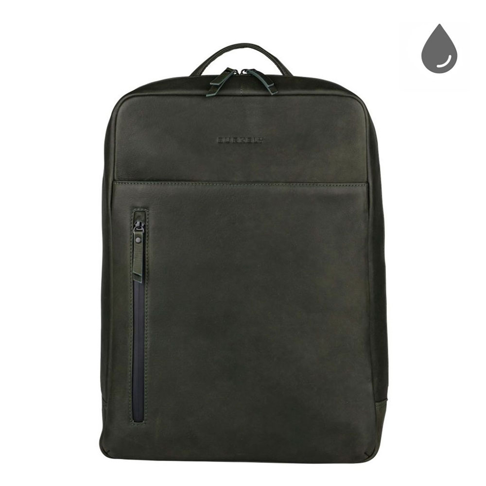 Burkely Rain Riley Backpack 15.6 Oil Green