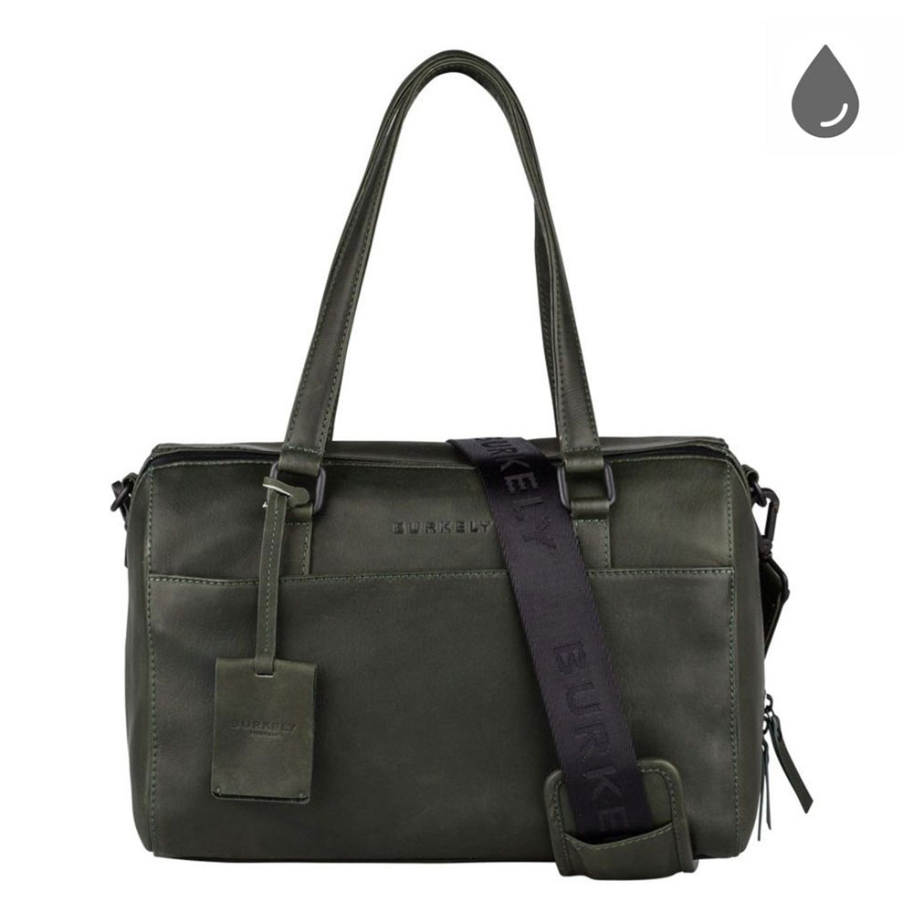 Burkely Rain Riley Handbag S Oil Green