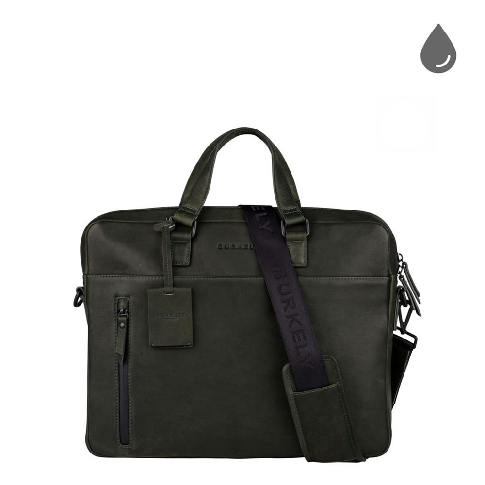 Burkely Rain Riley Laptopbag 15 Oil Green