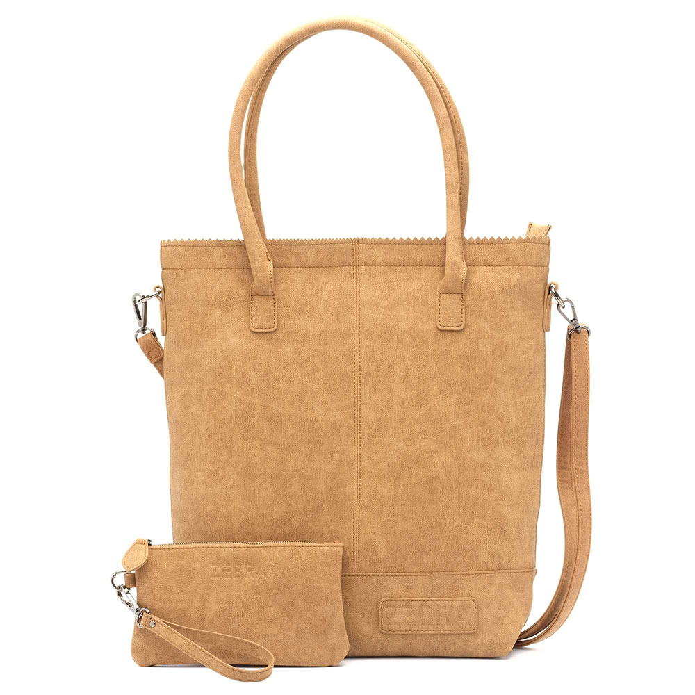 Zebra Trends Natural Bag Kartel Rits Camel 552201
