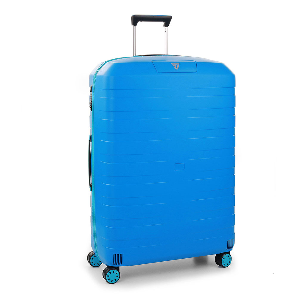 Roncato Box 2.0 Young 4 Wiel Trolley Large 78 Anise Blue