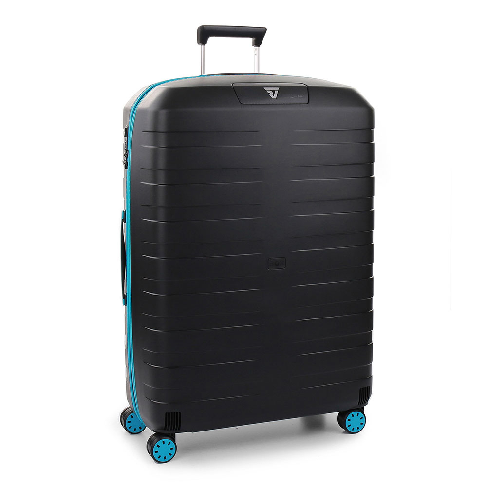 Roncato Box 2.0 Young 4 Wiel Trolley Large 78 Black