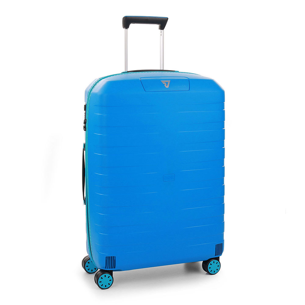 Roncato Box 2.0 Young 4 Wiel Trolley Medium 69 Anise Blue