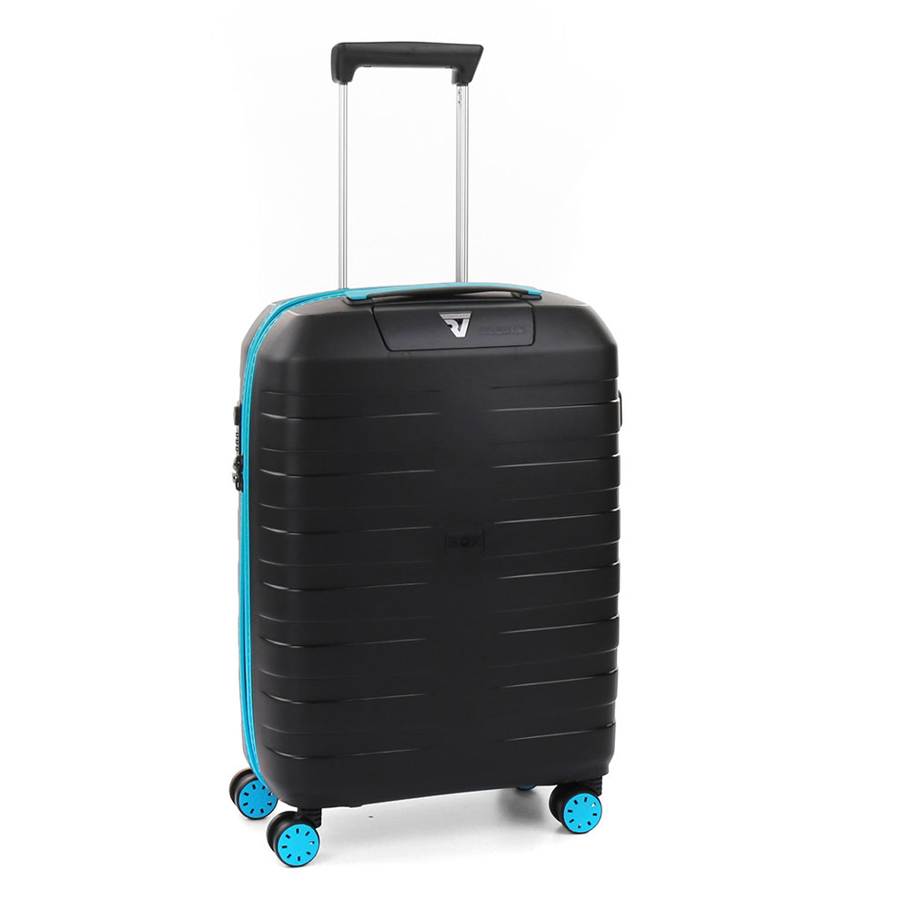Roncato Box 2.0 Young 4 Wiel Cabin Trolley 55 Black
