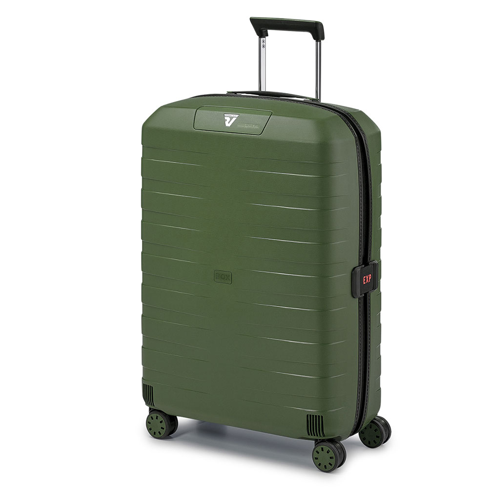 Roncato Box 4.0 4 Wiel Spinner 69 Expandable Green