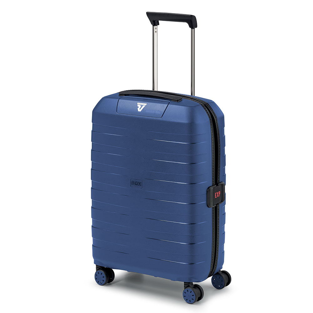 Roncato Box 4.0 4 Wiel Cabin Trolley 55/20 Expandable Navy