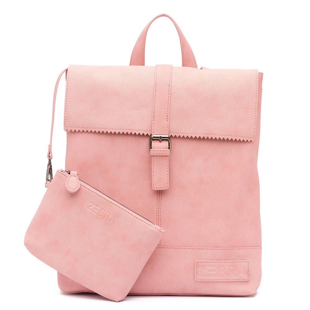 Zebra Trends Backpack Loiza Rugzak Pink