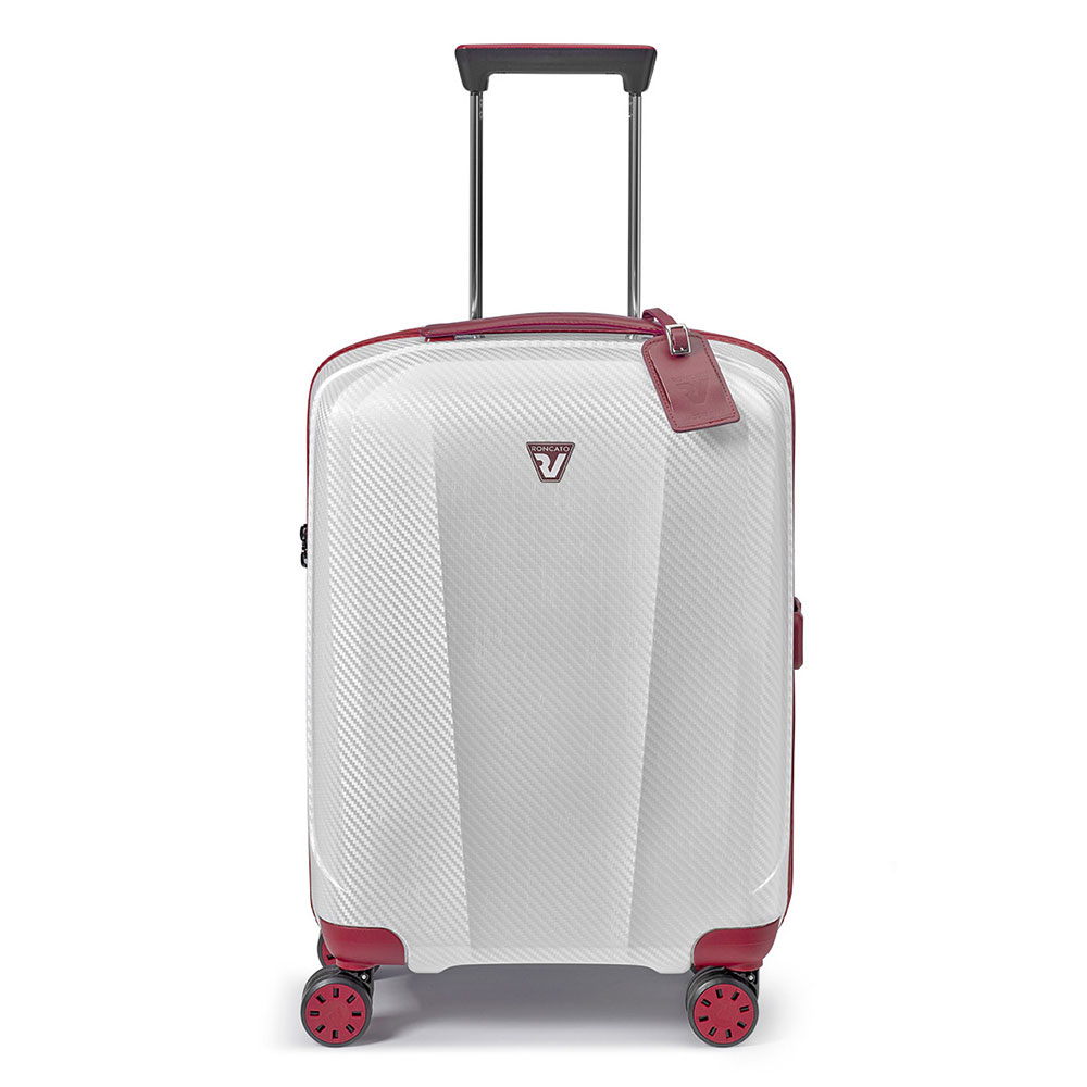 Roncato We Are Glam 4 Wiel Cabin Trolley 55 Red/White