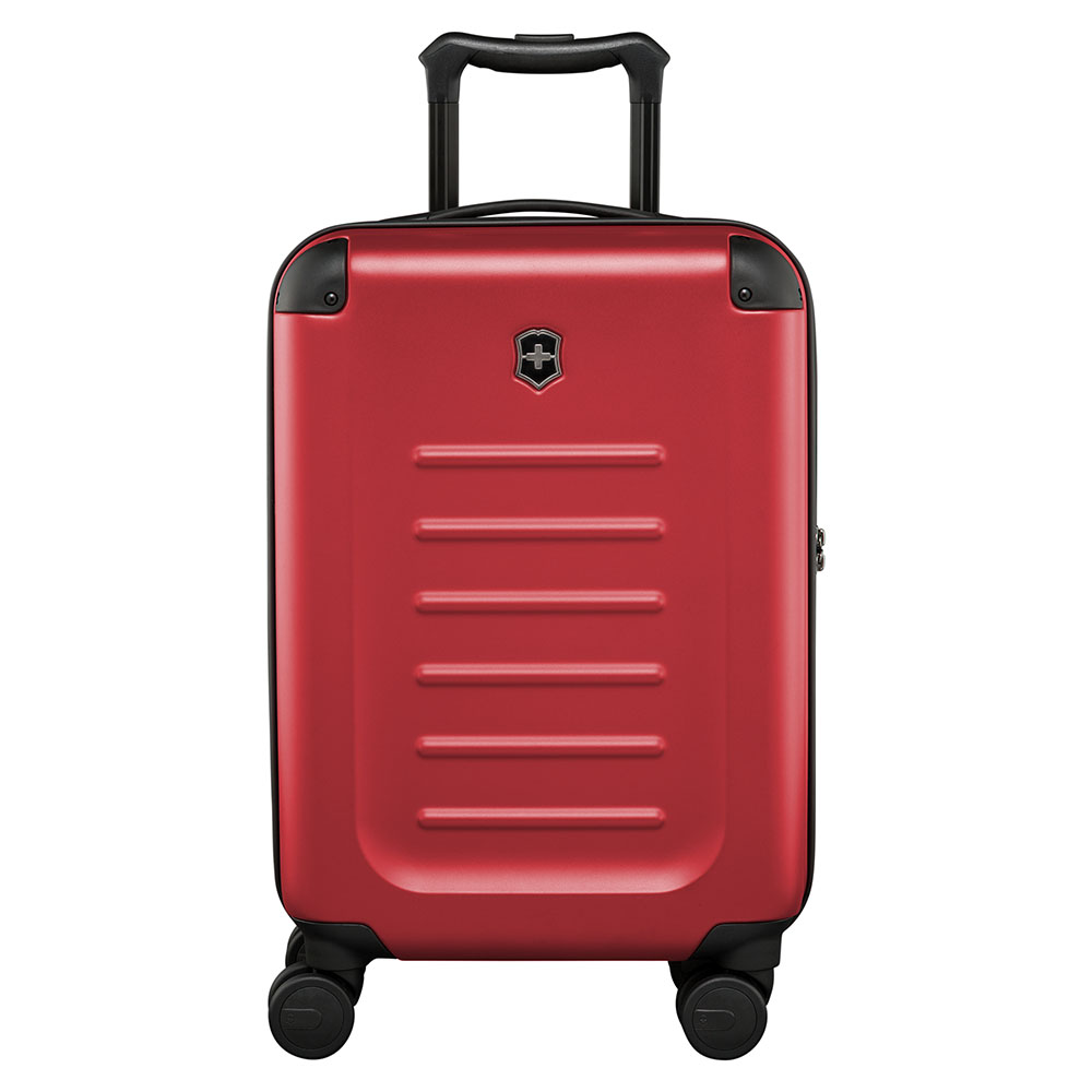 Harde Koffers Victorinox Victorinox Spectra 2.0 Compact Global Carry On Red