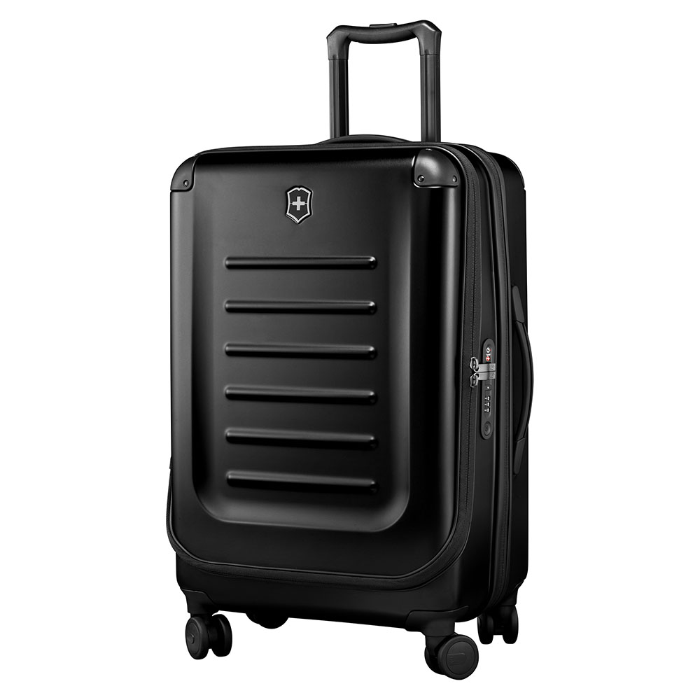 Victorinox Spectra 2.0 Expandable Medium Trolley 69 Black Victorinox nieuw