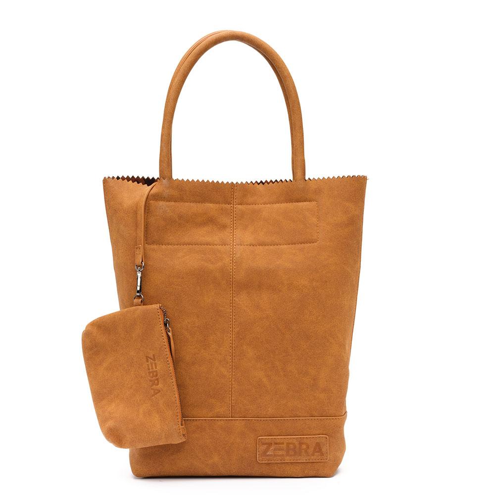 Zebra Trends Natural Bag Kartel Leopard Lining Camel 603307