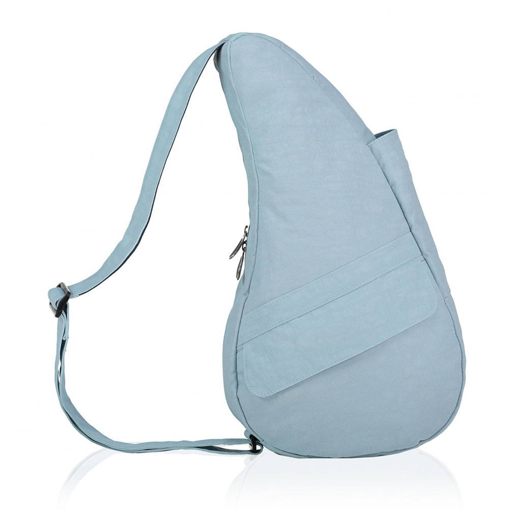 The Healthy Back Bag The Classic Collection Textured Nylon S Glacier Blue