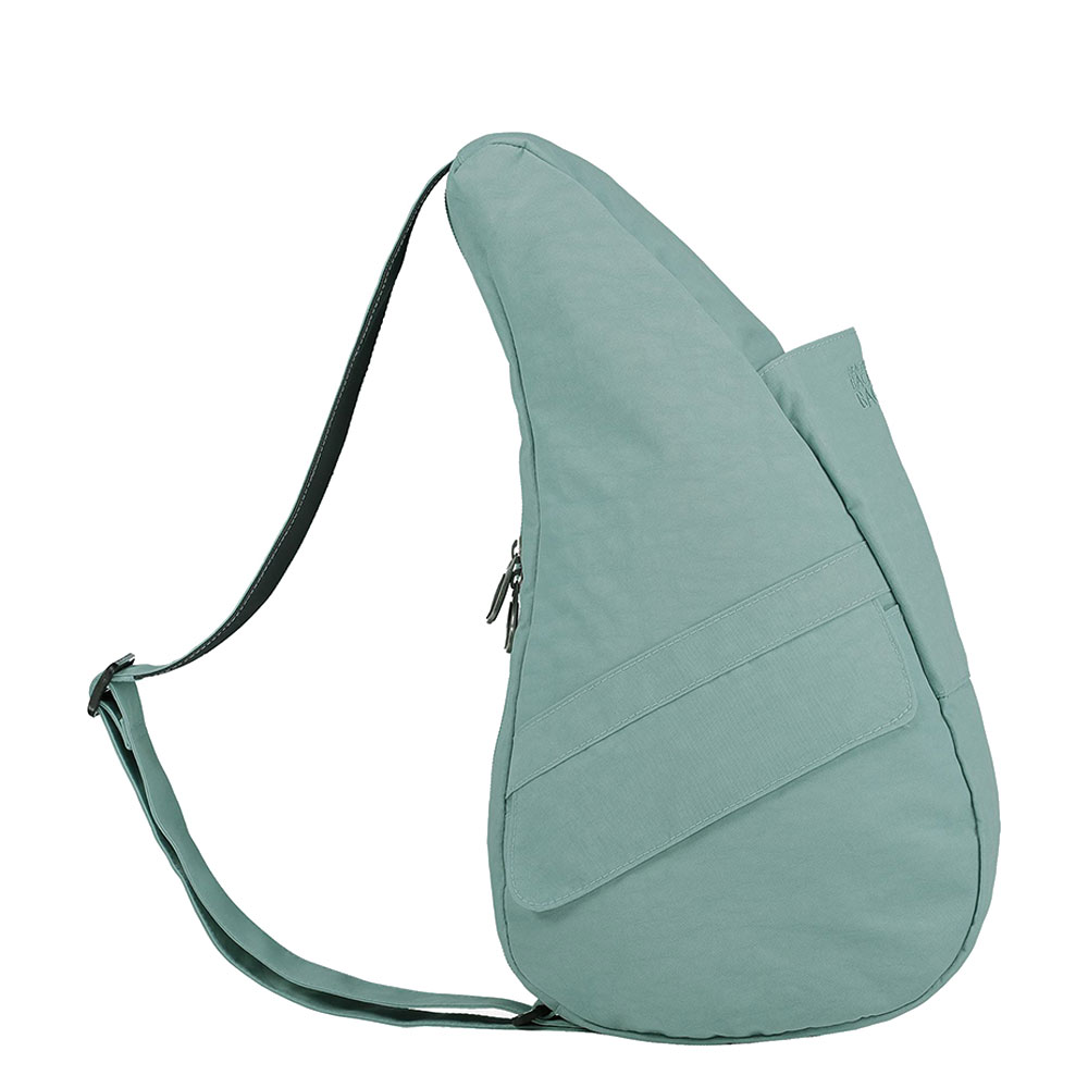 The Healthy Back Bag The Classic Collection Textured Nylon S Aqua