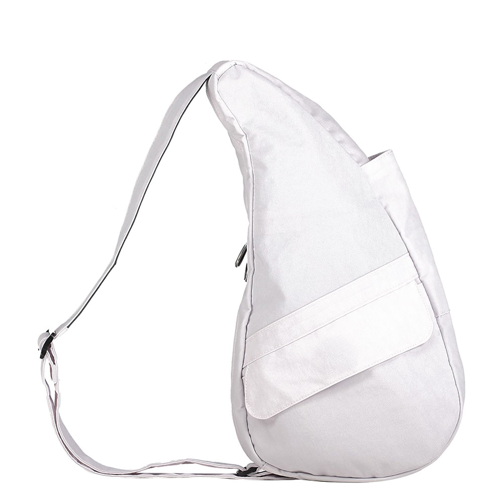 The Healthy Back Bag The Classic Collection Textured Nylon S Opal White