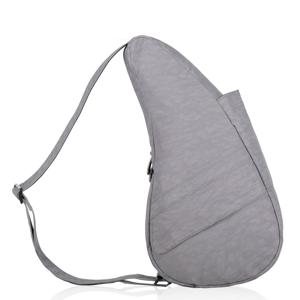 The Healthy Back Bag The Classic Collection Textured Nylon S Pebble Grey