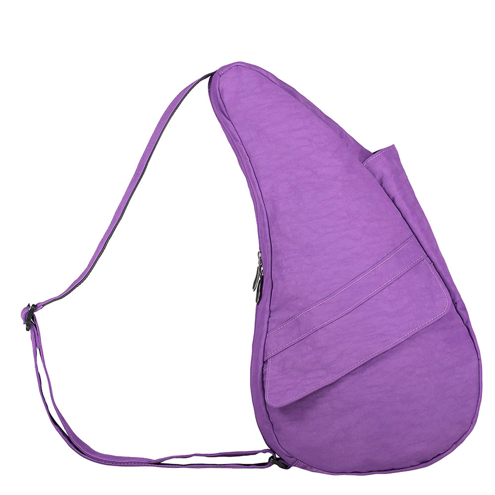 The Healthy Back Bag The Classic Collection Textured Nylon S Ultra Purple