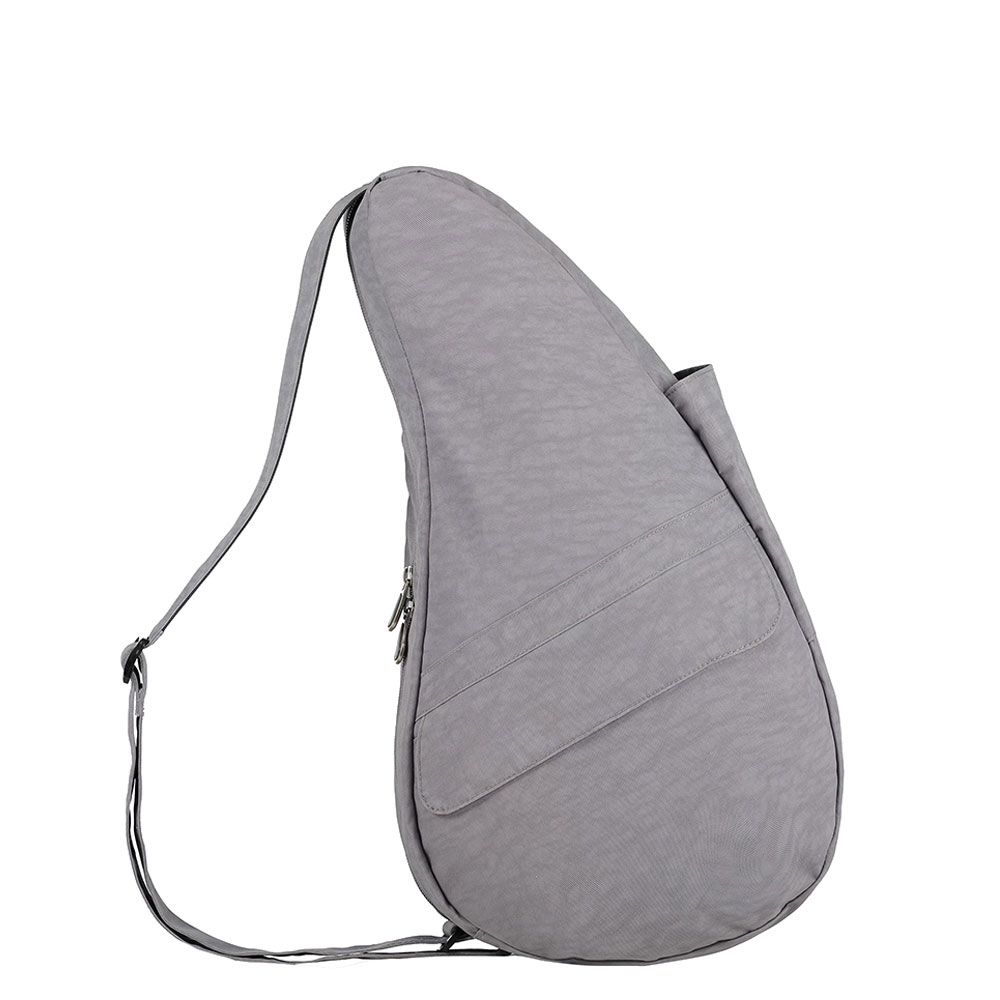 The Healthy Back Bag The Classic Collection Textured Nylon M Pebble Grey
