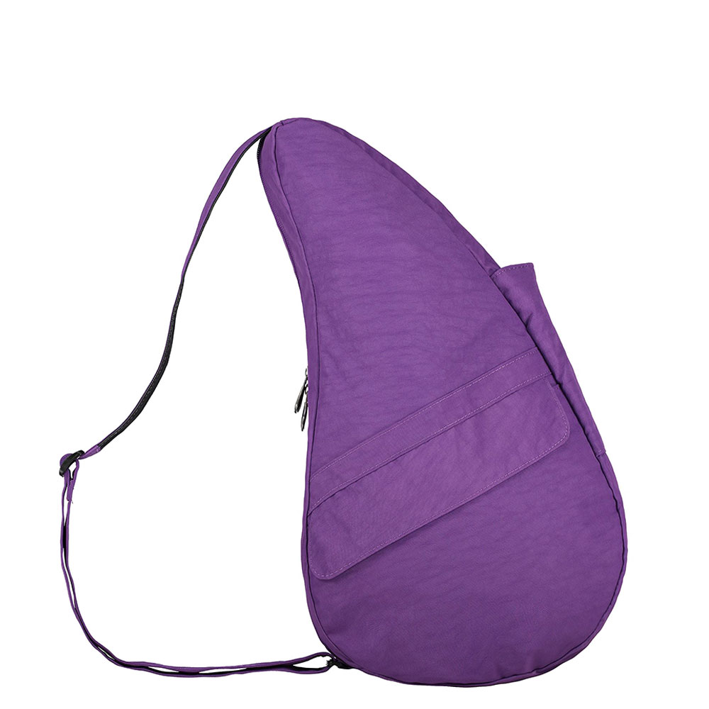 The Healthy Back Bag The Classic Collection Textured Nylon Ultra Purple