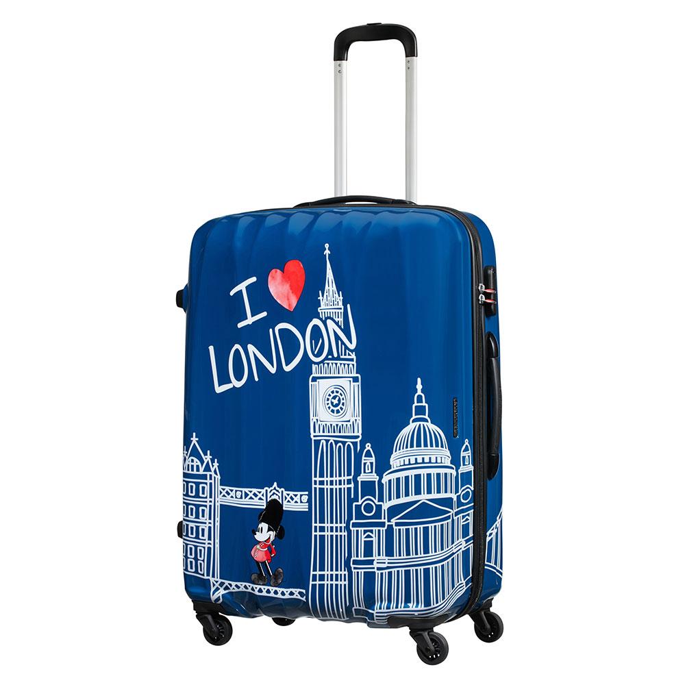 American Tourister Disney Legends Spinner 55 Take Me Away Mickey London