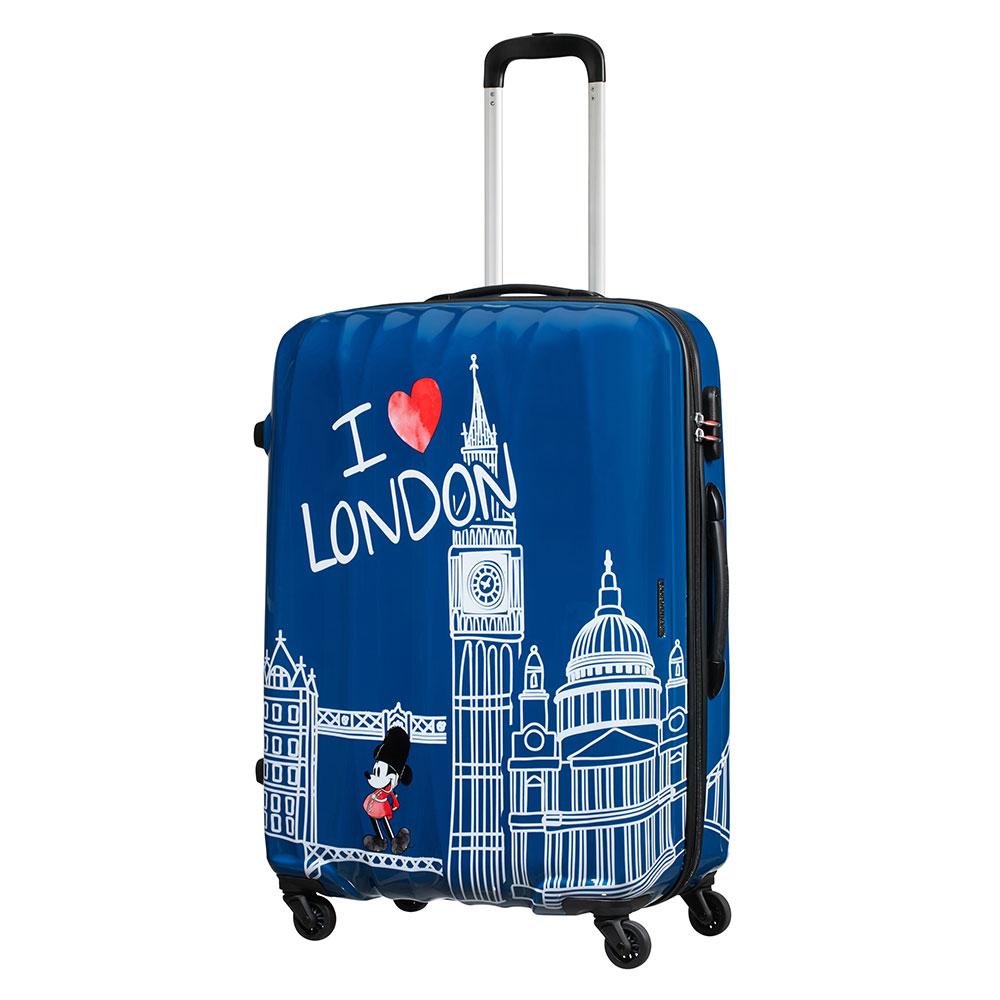 American Tourister Disney Legends Spinner 75 Take Me Away Mickey London
