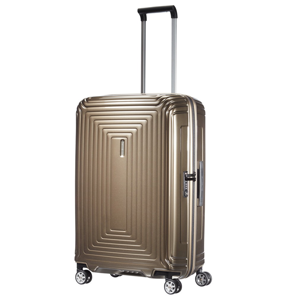 Samsonite Neopulse Spinner 69 Metallic Sand