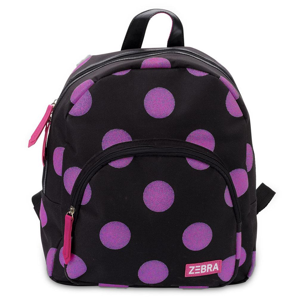 Zebra Trends Girls Rugzak Glitter Dots Hot Pink