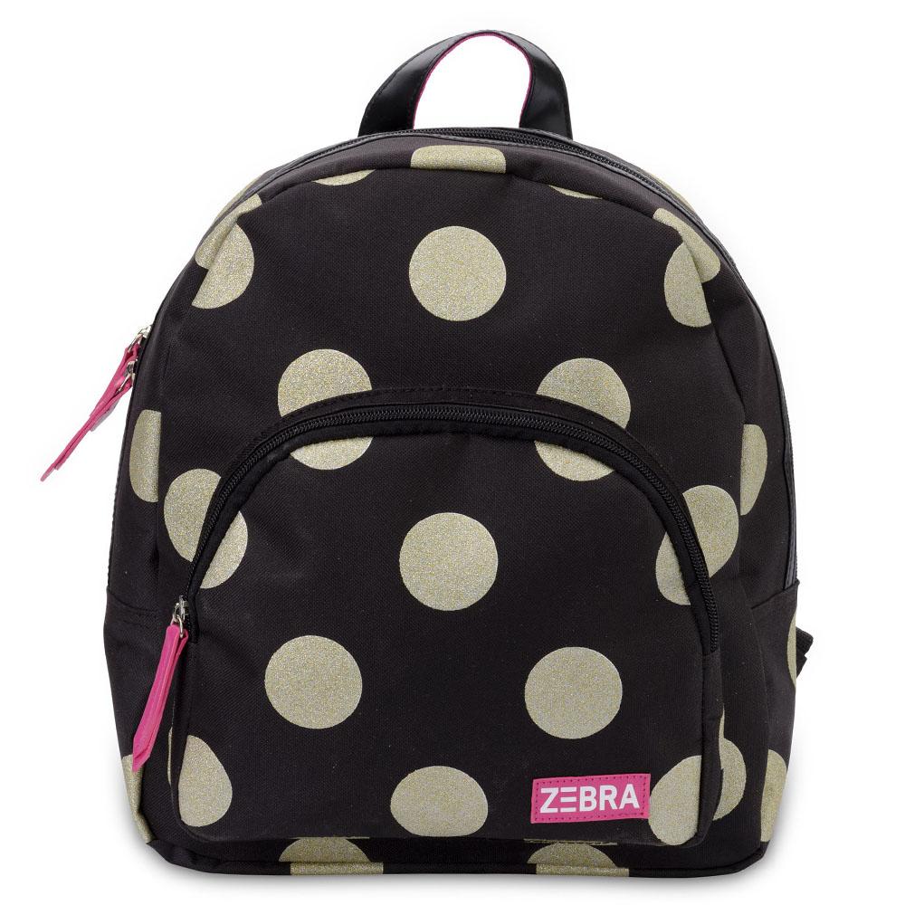 Zebra Trends Girls Rugzak Glitter Dots Gold