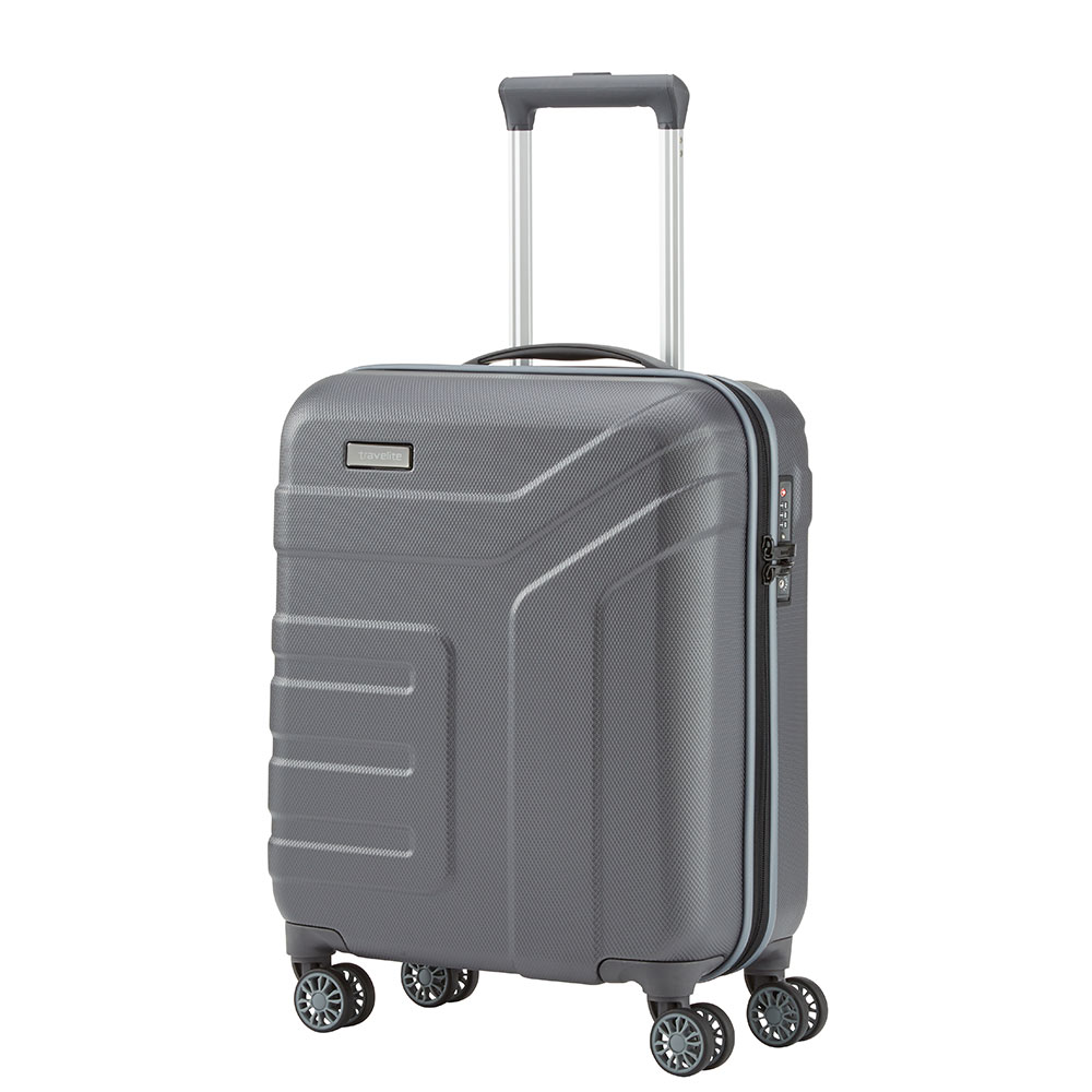Travelite Vector 4 Wheel Trolley S Anthracite