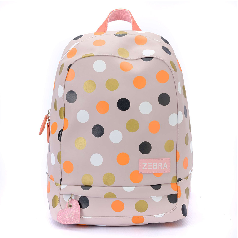 Zebra Trends Kinder Rugzak L Cool Dots
