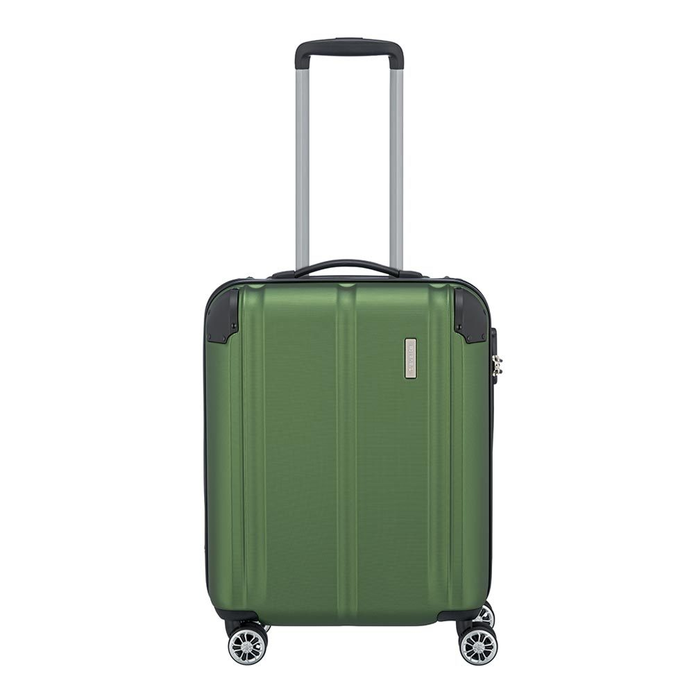 Travelite City 4 Wheel Trolley S Green