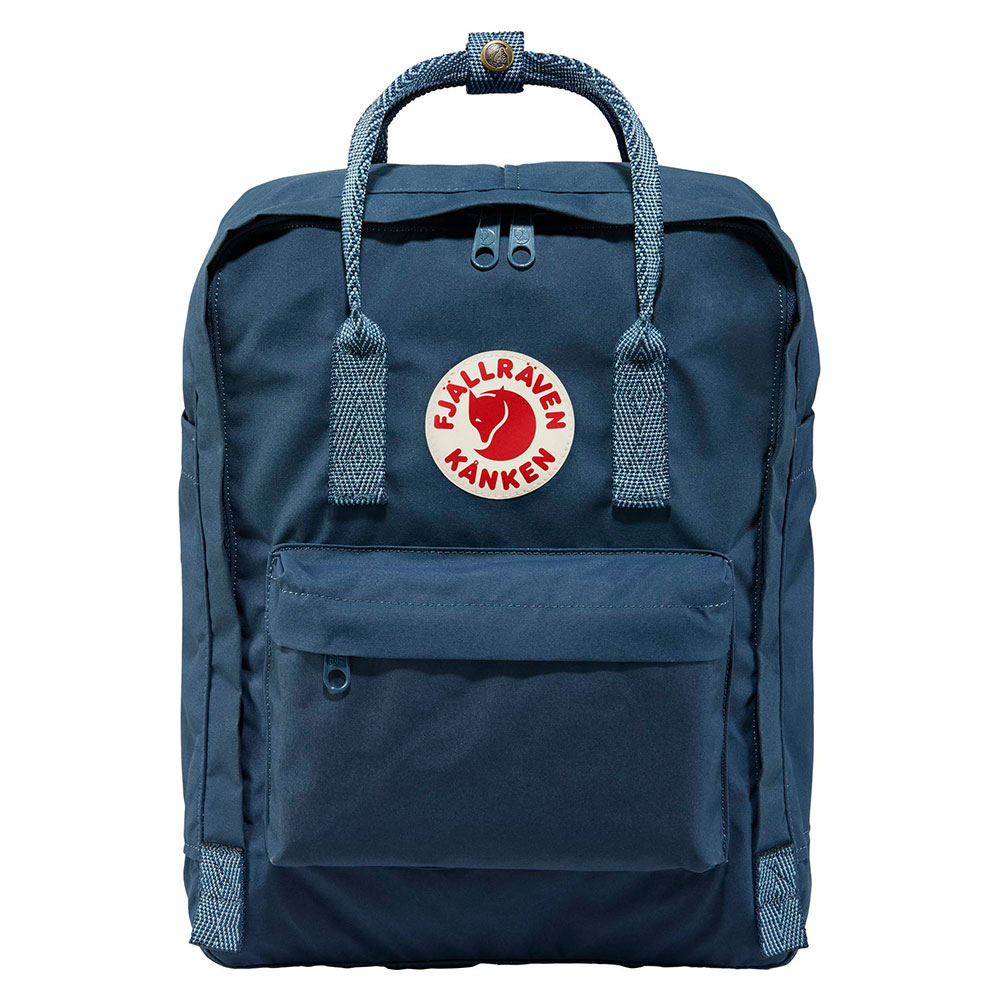 FjallRaven Kanken Rugzak Royal Blue Goose Eye