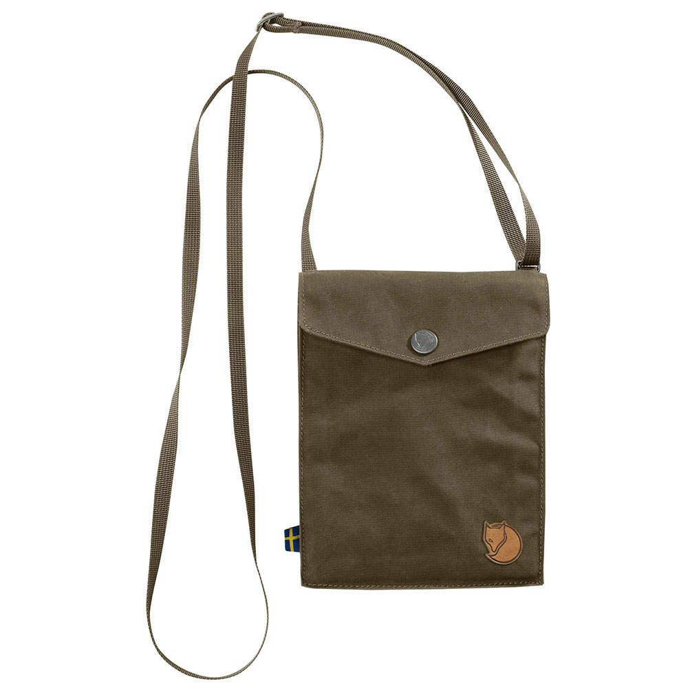 FjallRaven Pocket Schoudertas Dark Olive
