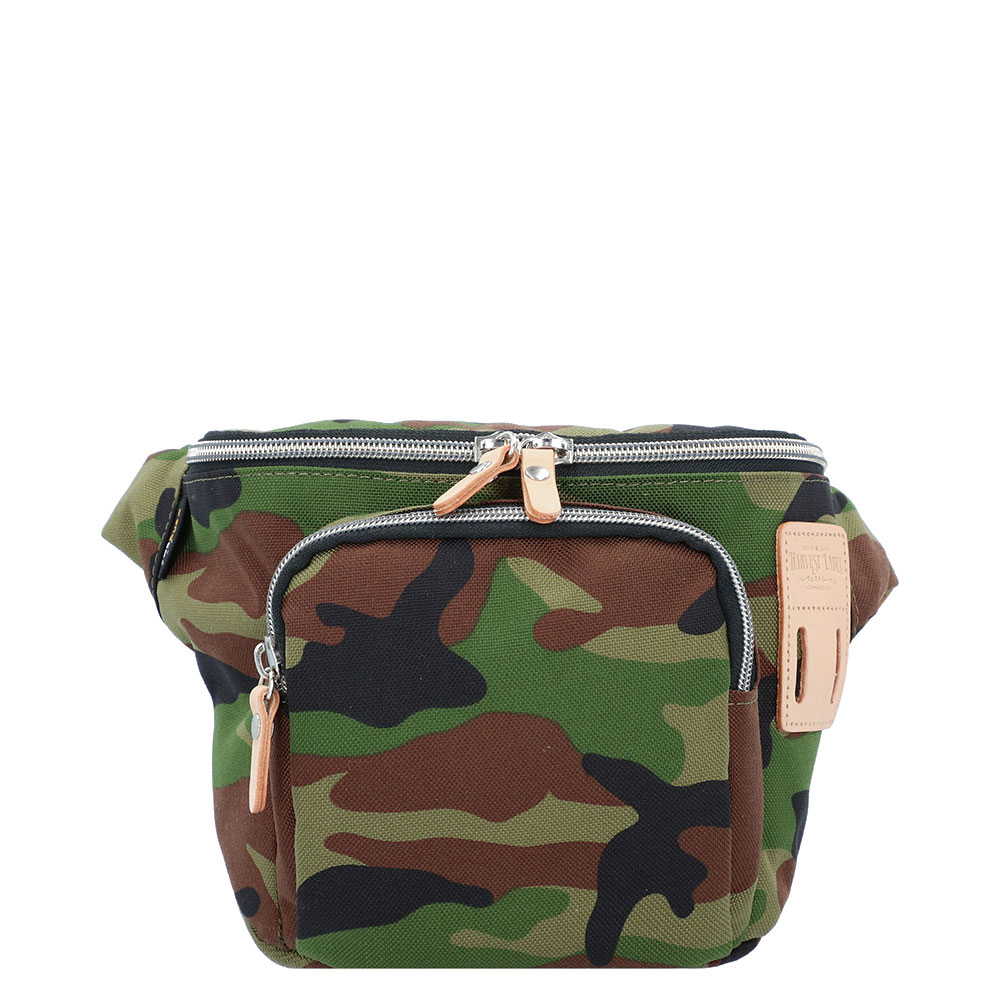 Harvest Label Bandai Hip Bag Camouflage