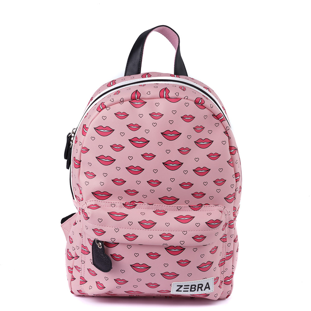 Zebra Trends Kinder Rugzak M Kisses